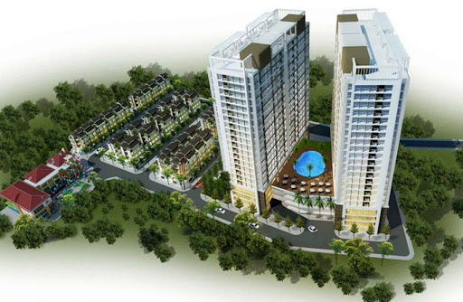 Tình hình tiến độ dự án Green Pearl  378 Minh Khai